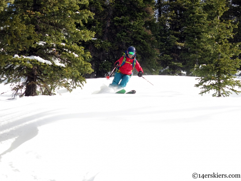 Monarch backcountry skiing