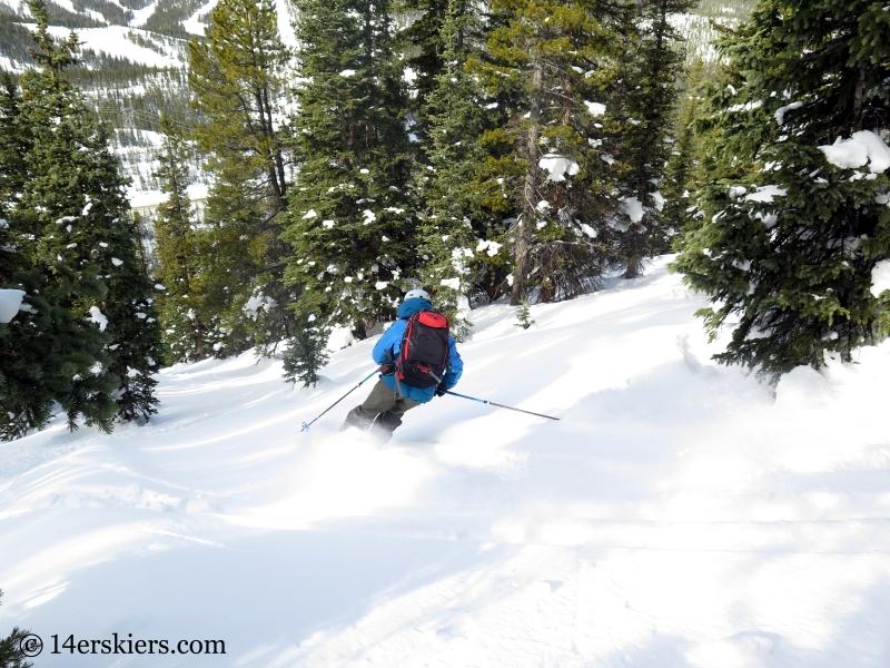 monarch tree skiing