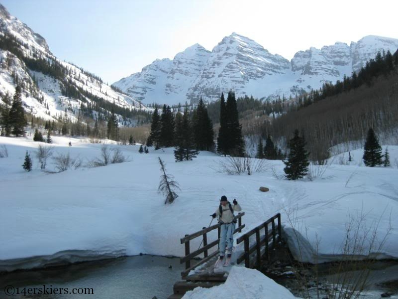 Bridge near North Maroon Peak