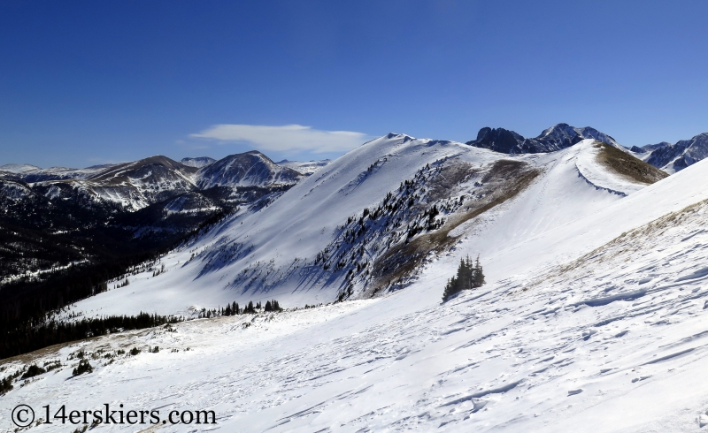 South Diamond Peak near Cameron Pass