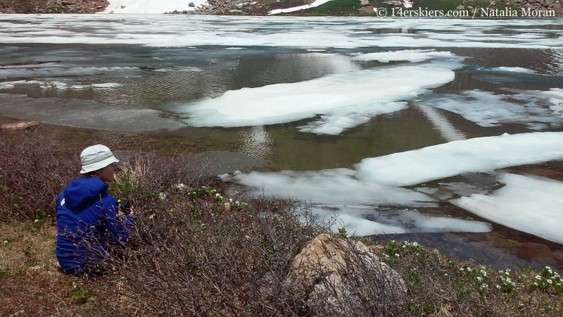 Brittany Konsella by Halfmoon Lake