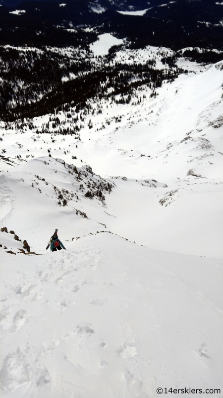 Irwin backcountry skiing