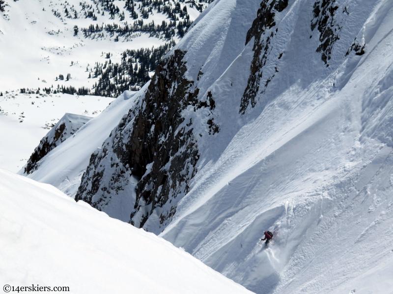 Frank Konsella steep skiing