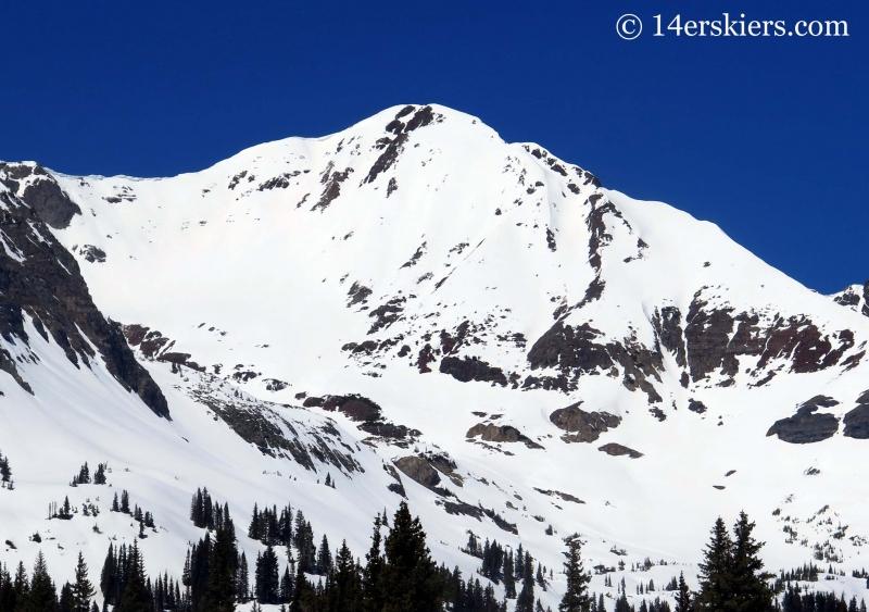 South face Mount Owen Crested Butte