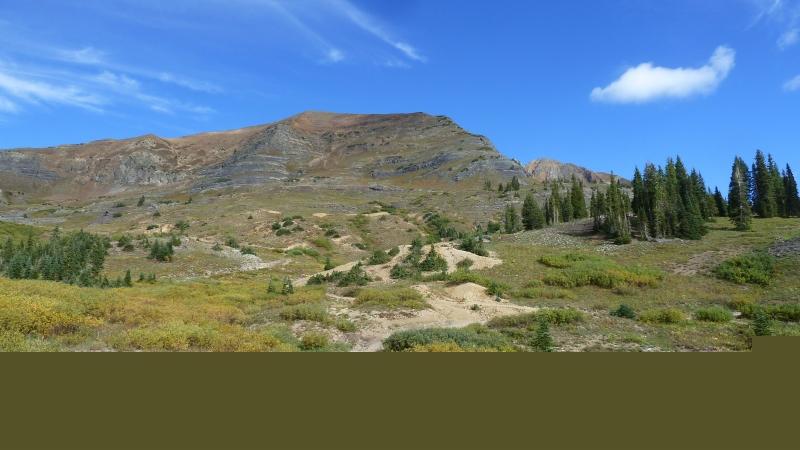 Hiking Mt. Owen near Crested Butte, CO.