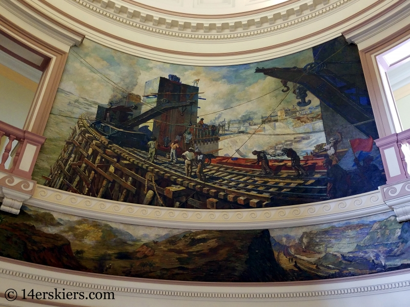Murals in the Panama Canal Administration Building