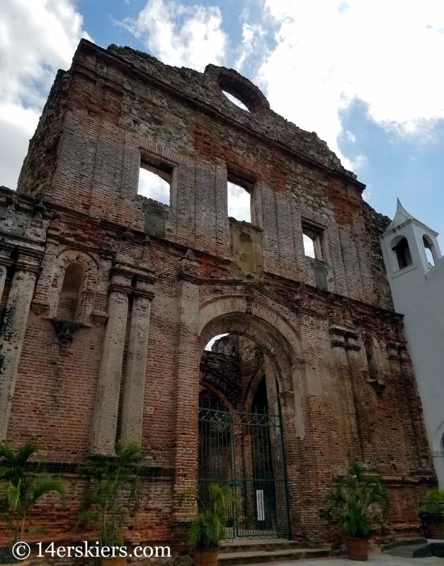 Inglesia y Convento de Santo Domingo, Panama City