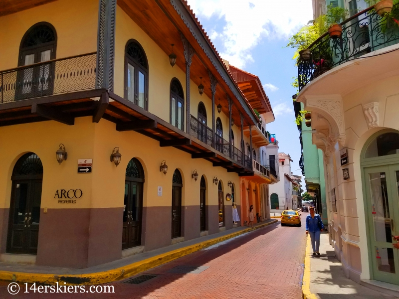 Casco Viejo, Panama City.