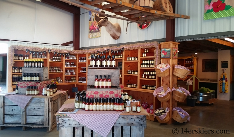 Black Bridge Winery store.