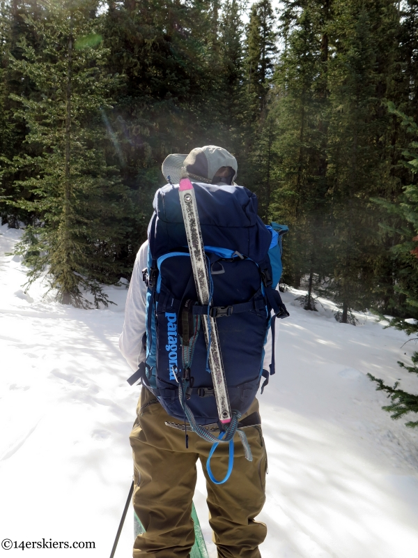 patagonia snow drifter 40l backpack