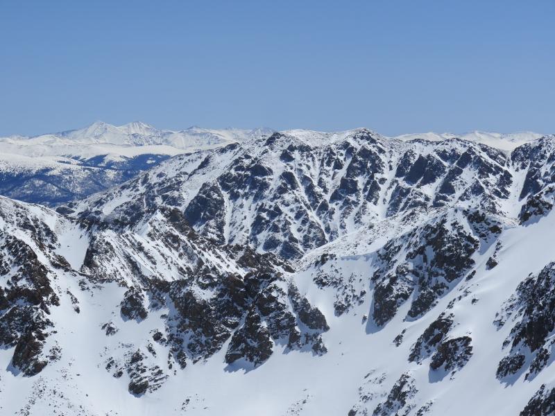Keller Mountain, Gore Range.