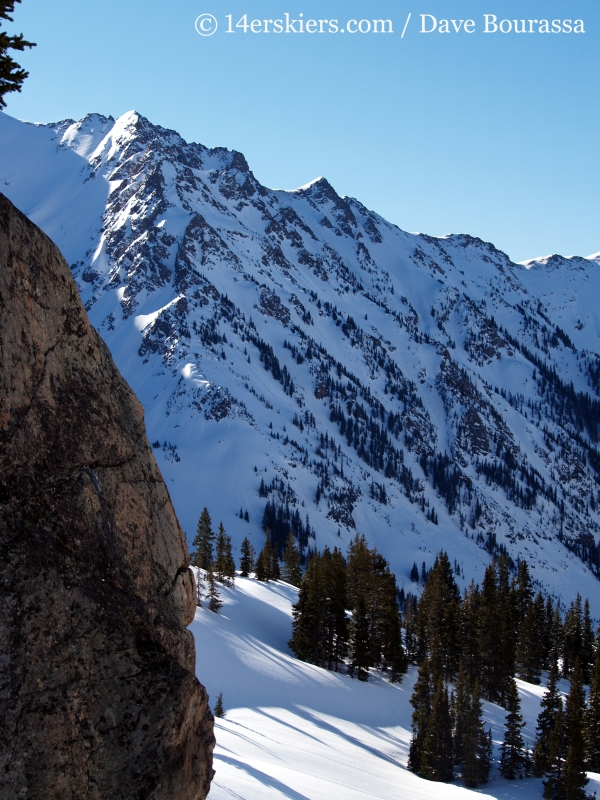 Skiers Point in the Gore Range