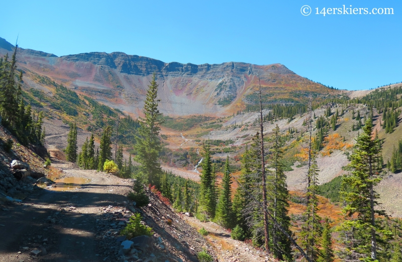 Redwell Basin on Mt. Emmons near Crested Butte