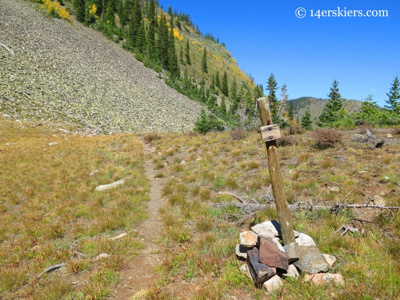 Trail 404, Peeler Lakes near Crested Butte