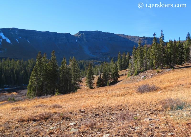 Peeler Basin near Crested Butte