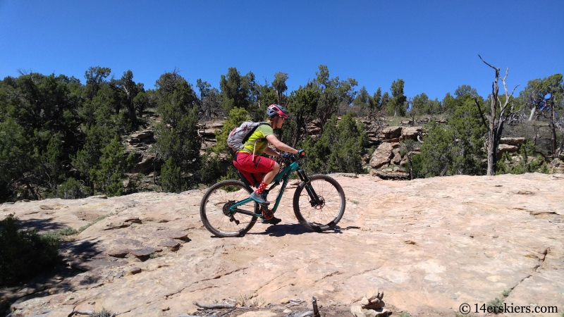 sandstone bike riding at cortez