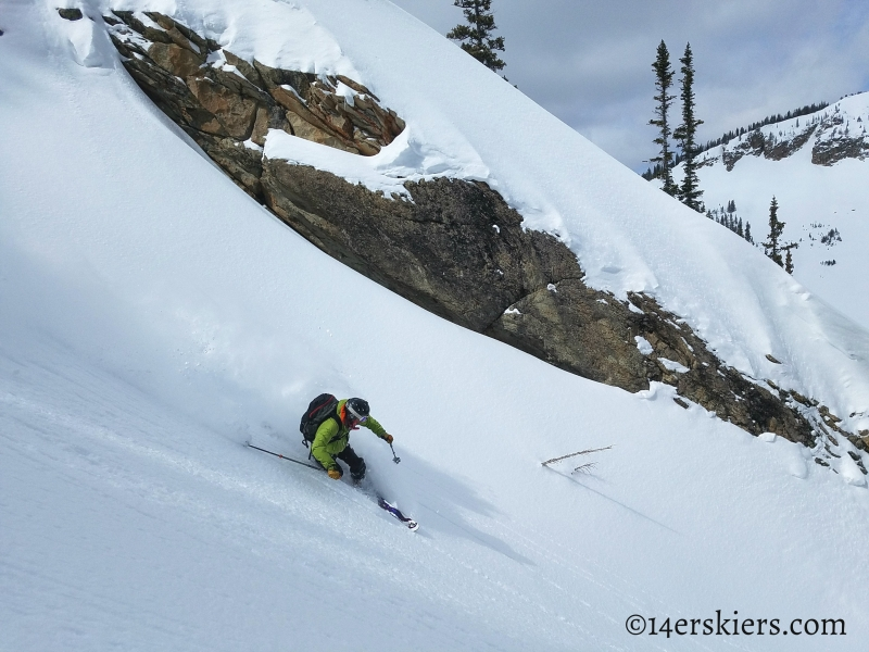 Backcountry skiing in Crested Butte - the Playground