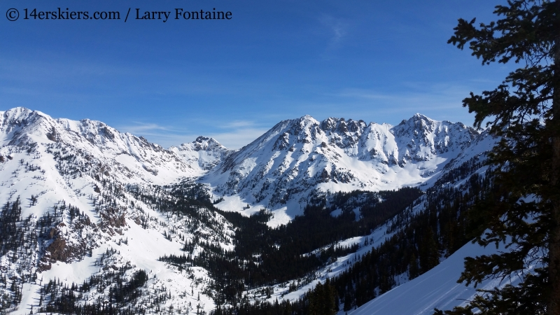 backcountry skiing in the Powder Factory