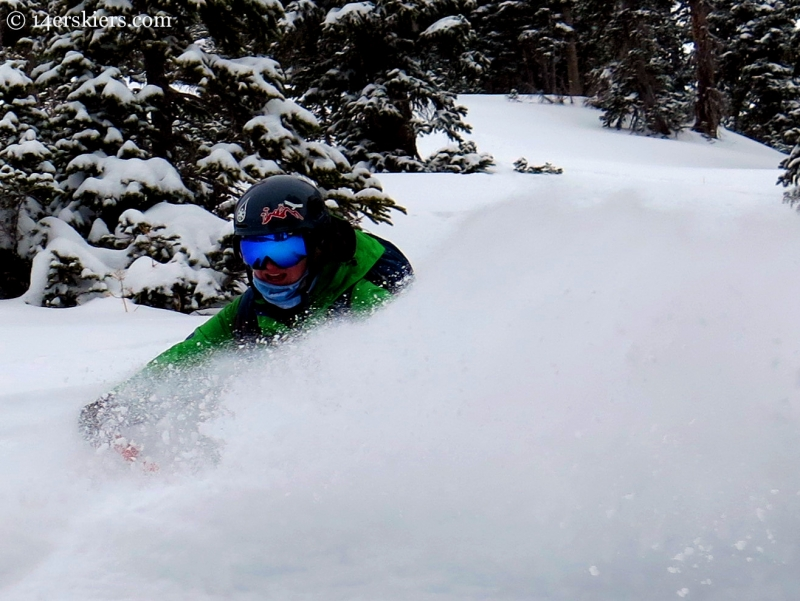 Alex Riedman skiing in the Crested Butte backcountry