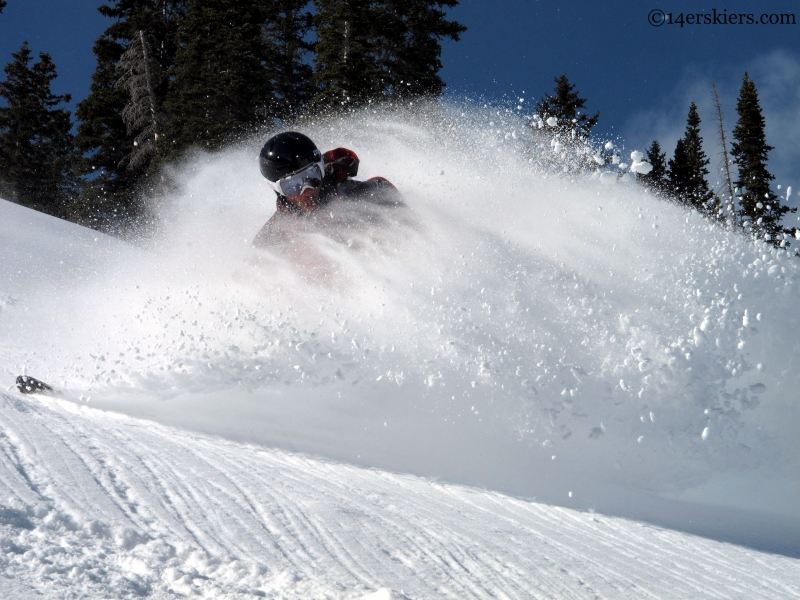 Mark robbins crested butte backcountry skiing