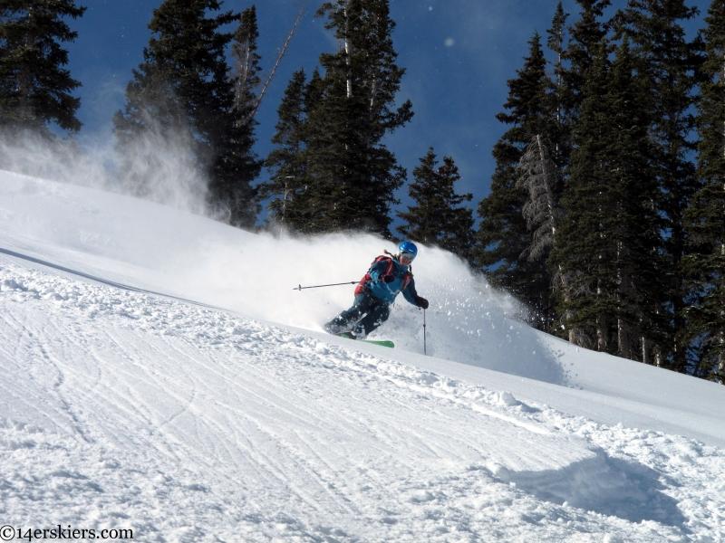 slate river backcountry skiing