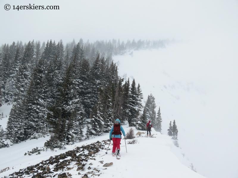 Ridge on Mount Emmons