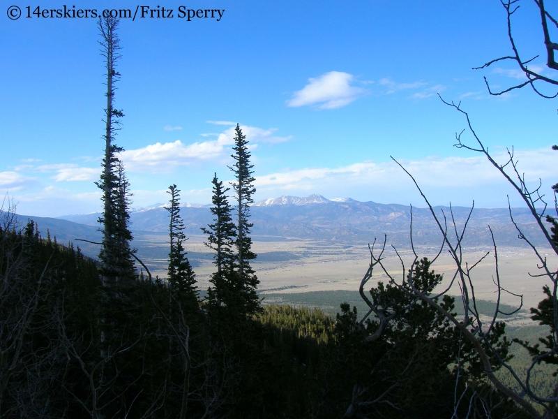Views from Mount Princeton.