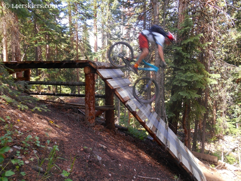 Frank Konsella riding Crusader at Crested Butte Mountain Resort