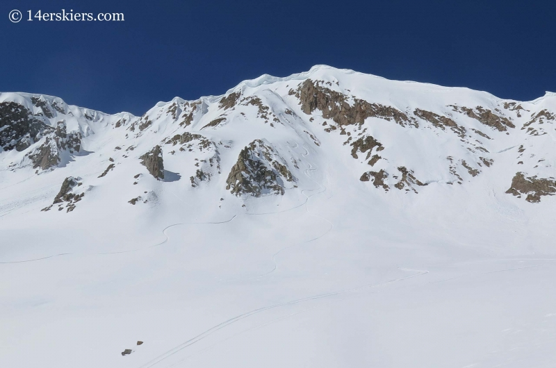 Mount Owen in the Crested Butte backcountry.