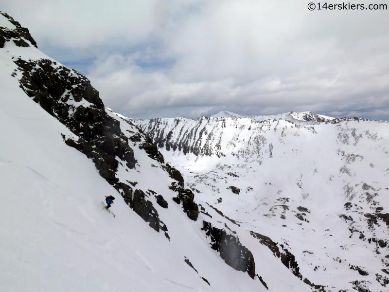 frank Konsella skiing summit county backcountry