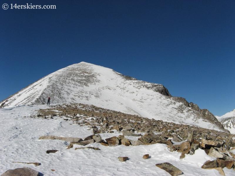 Quandary Peak winter summit.