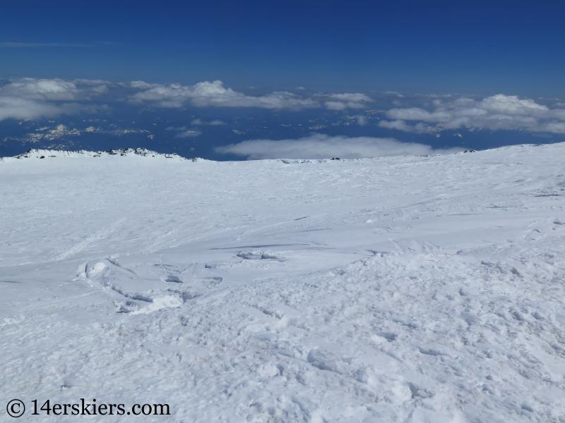 Summit Crater on Mount Rainier.