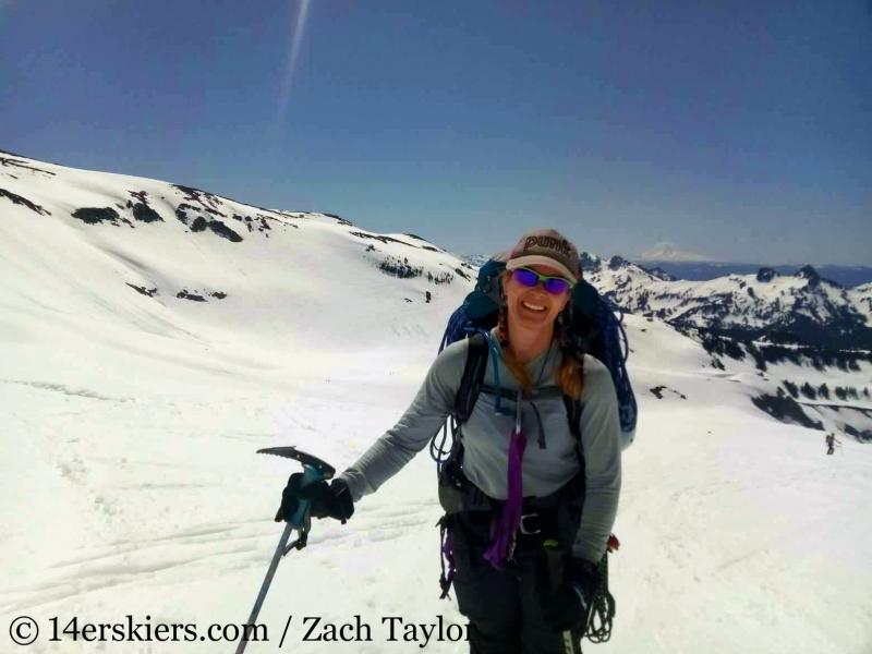 Nisqually Glacier on Mount Rainier.