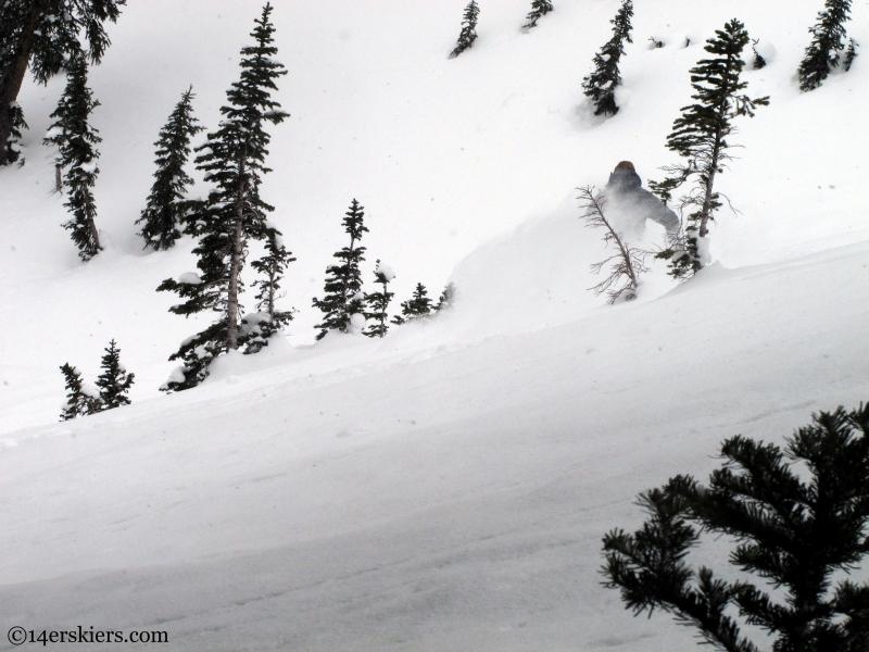 CB skiing