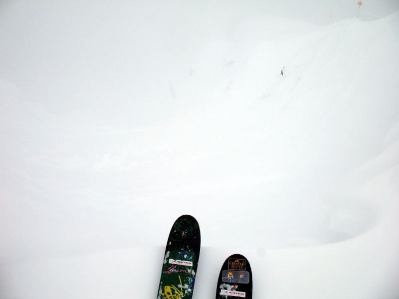Skiing at Revelstoke, British Columbia
