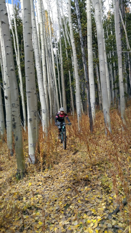 colorado fall mountain biking