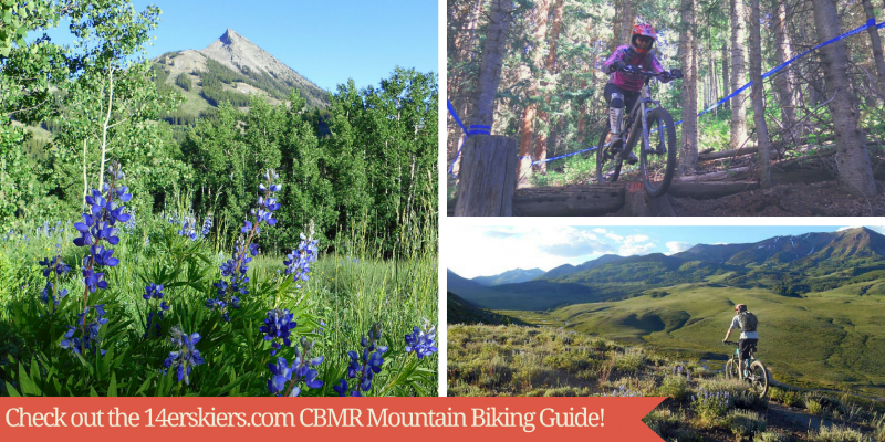 CBMR mountain biking guide