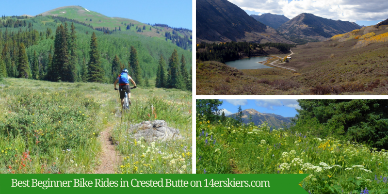 Best Beginner Bike Rides in Crested Butte