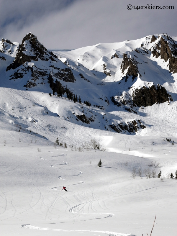 skiing gothic east face