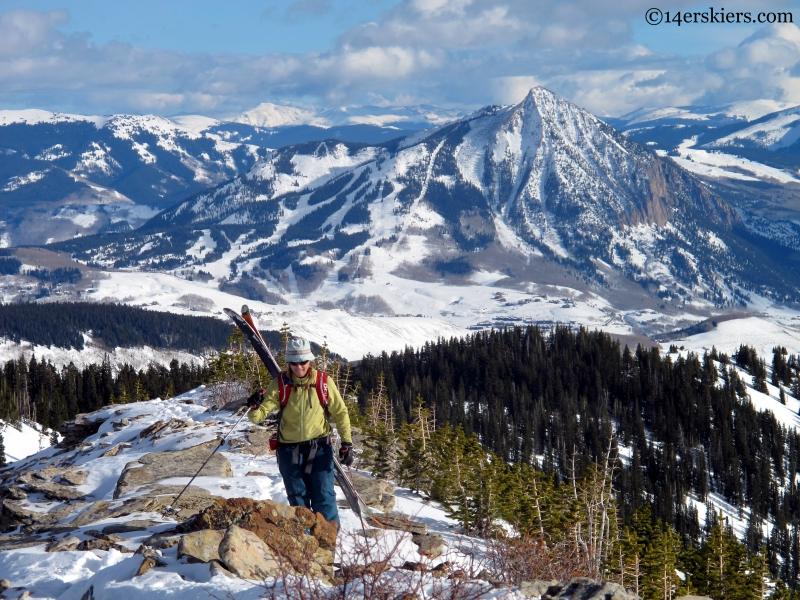 Crested Butte Schuylkill ski descent