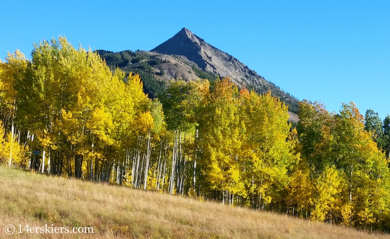 Crested Butte Mountain Resort - favorite fall mountain bike rides near Crested Butte