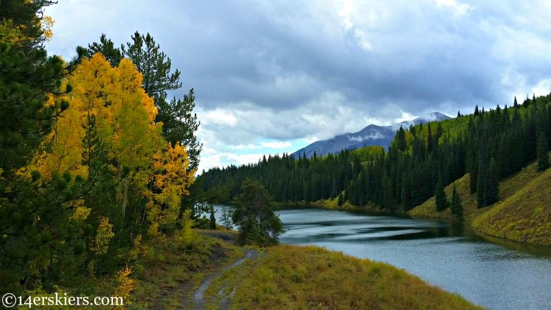 Fall colors in Crested Butte, Long Lake