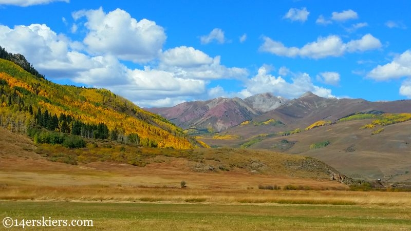 Fall colors on Brush Creek in Crested Butte.