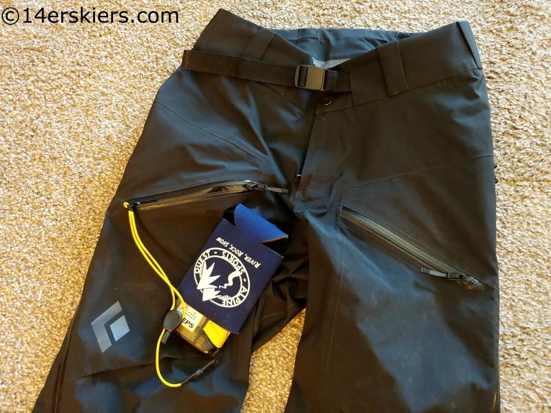 BD Sharp End pants pockets