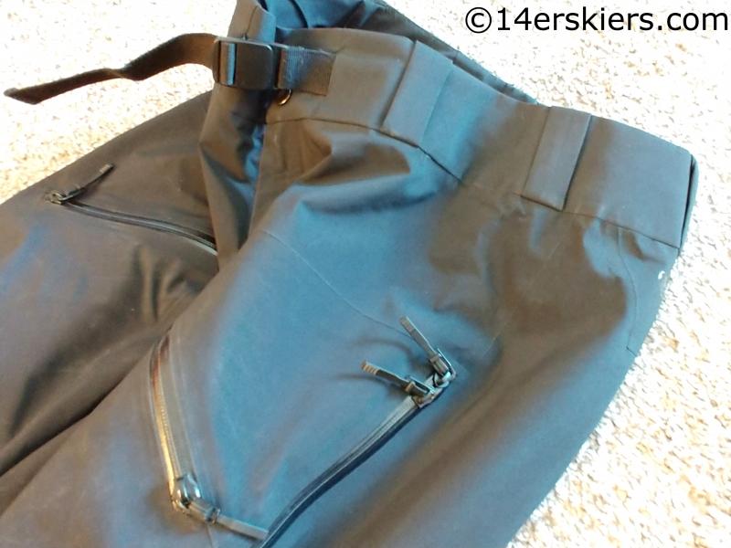 Sharp End side zip