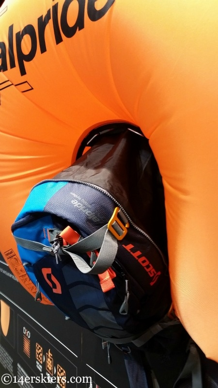 Scott Airbag Alpride Technology