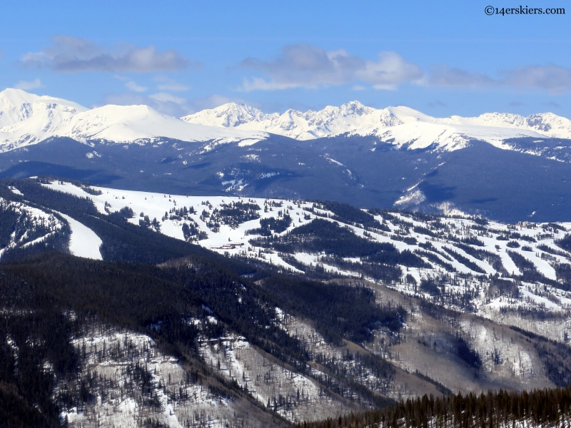 Vail and northern sawatch