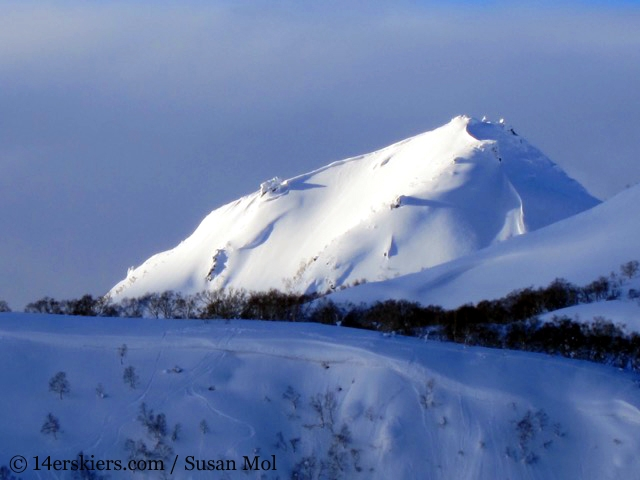 Dormant volcanoes around Niseko, Japan.