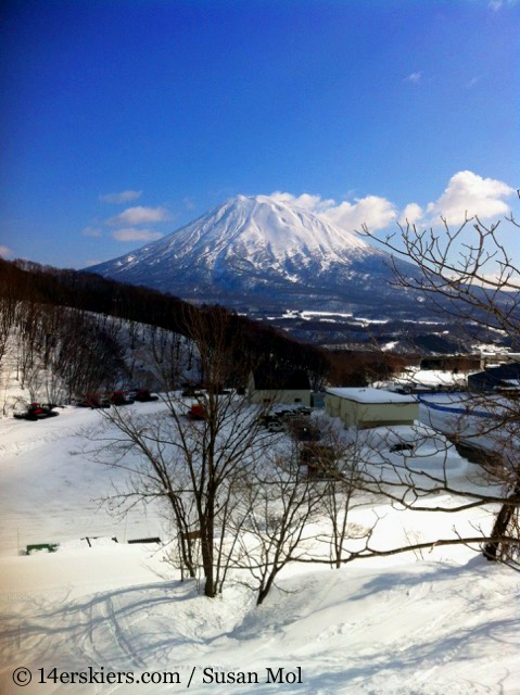 Mount Yotei in all her glory, skiing in Niseko Japan