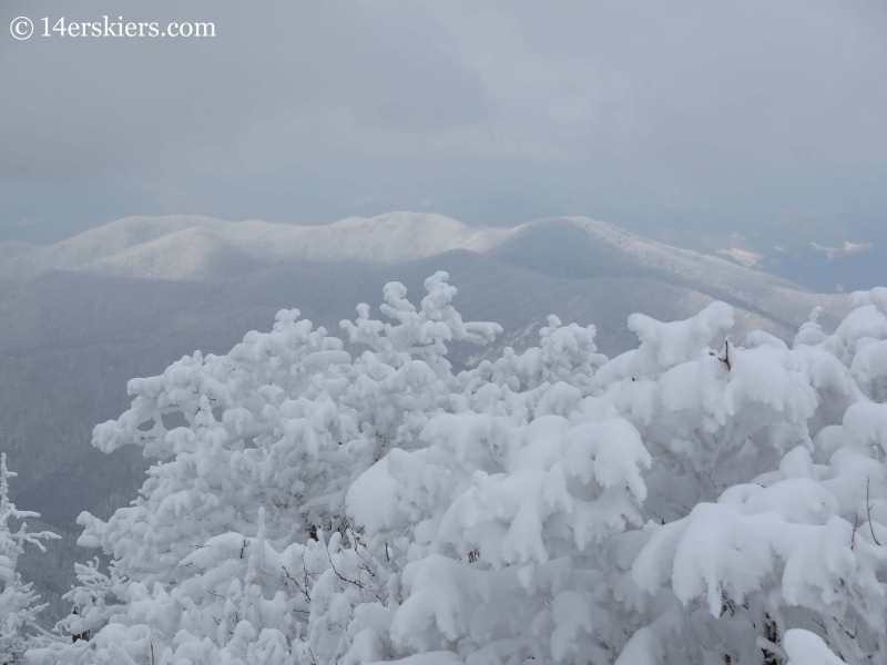 Views from top of YongPyong, South Korea.